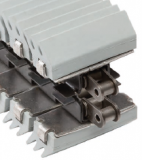 Rexnord 1874TAB GRIP SS-3.63IN J EPDM GY 55 megfogó (gripper) lánc, rozsdam. lapkával, sz.: 92,1mm (kód: L1874602446, cikkszám: 10373892)