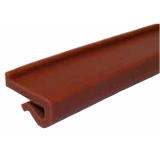S0251AS636443 - Rexnord (Marbett) láncvezető J-profil (82,5 mm lánchoz), 20x3 mm, fekete antisztatikus, cikksz.: 10375891