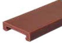 S0000648423 - Rexnord (Marbett) S0885 C-profil [PROFILE 885 ULF 6.05M (LP)], vörösesbarna ULF, 6 méteres szálakban, cikksz.: 10375574