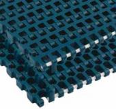 Rexnord WSM 1255 RBP [WSM1255-255MM_RBP-RBP] kanyarodó modulhev., sz.: 255 mm, fehér acetál, Positrack mindkét oldalon (kód: 868.40.12)