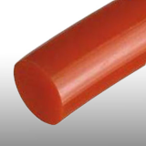 12,5 mm piros körszíj, sima