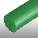 12 mm zöld körszíj, sima