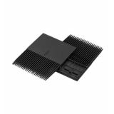 Rexnord TRAN PLT COMB BM1000 154x170MM átadófésű RR 1000 modulhevederhez, fekete, BM acetál (cikkszám: 10824668)